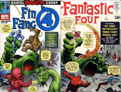 Fing Fang Four/FF #1