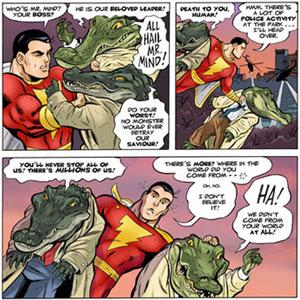 Shazam #1 panels