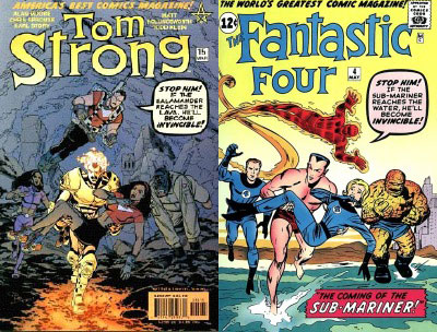 Tom Strong #15/FF# 4